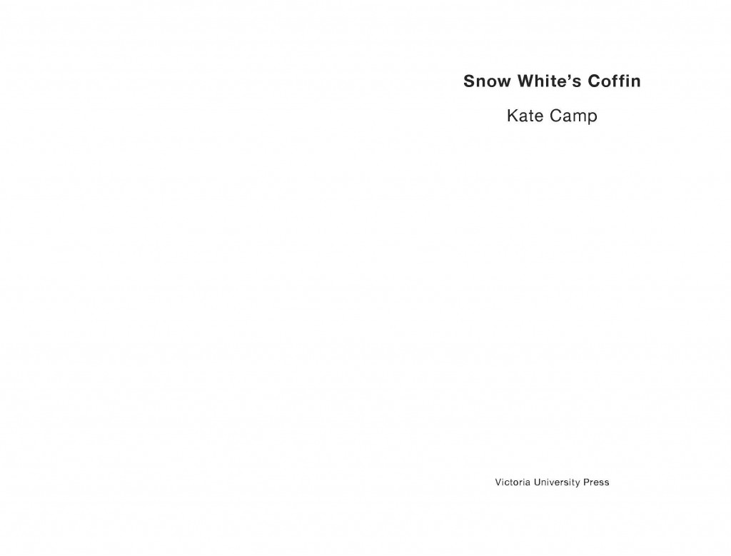 snow white title page