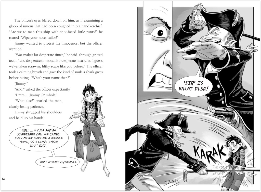 Monkey Boy spread p 32