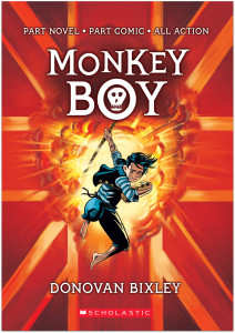 Monkey Boy front cover
