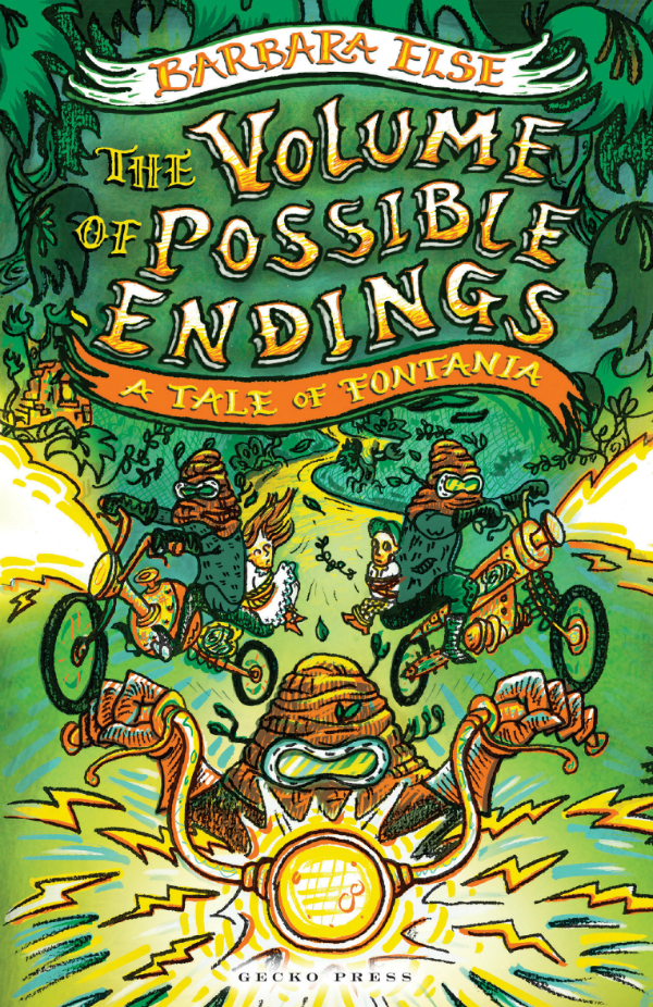 Book Cover Design Nz : The volume of possible endings best children s book